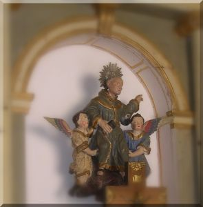 San Pedro Regalado (en la actual capilla del Abrojo)
