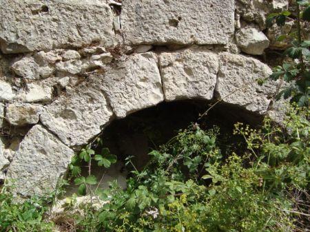 Arco del acueducto, junto al arca principal