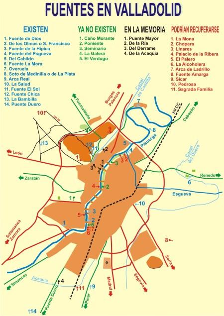 Fuentes Valladolid