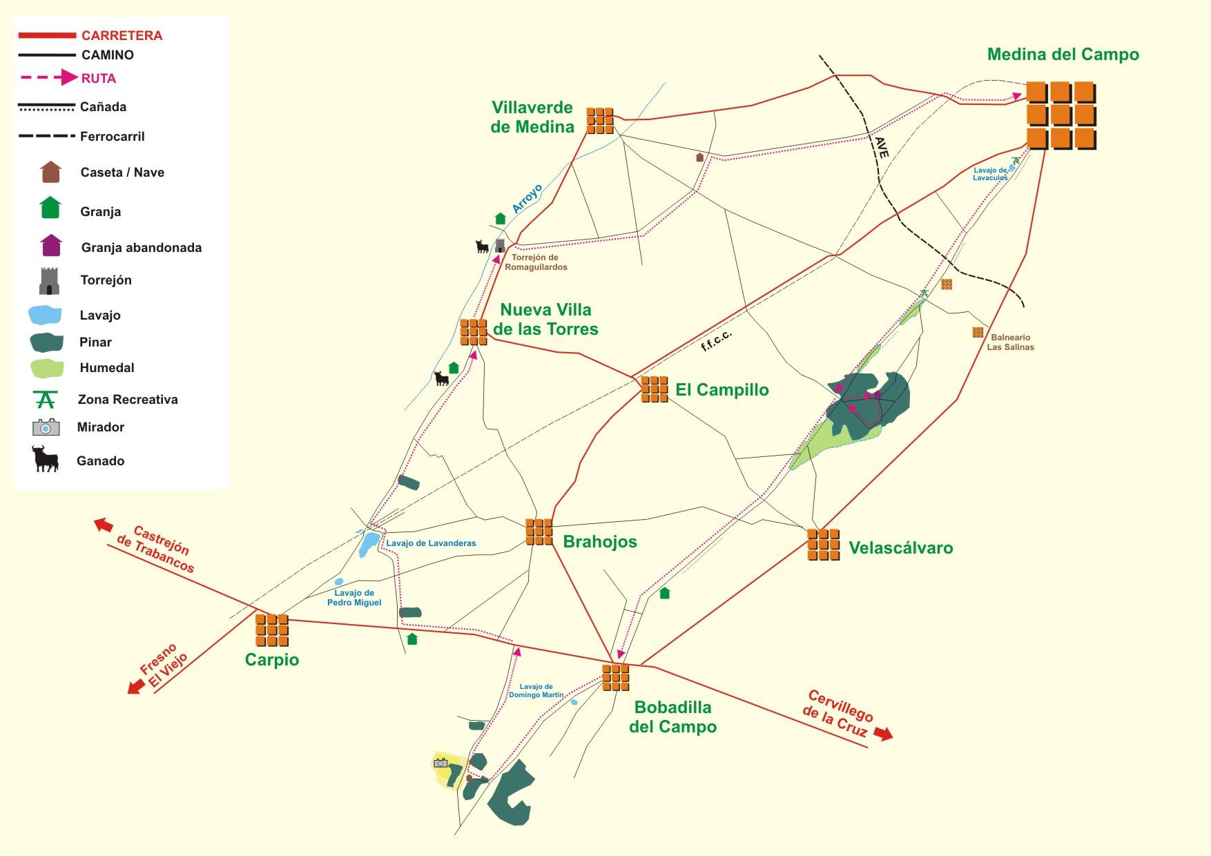 Medina del campo valladolid rutas y paisajes - Spa en medina del campo ...