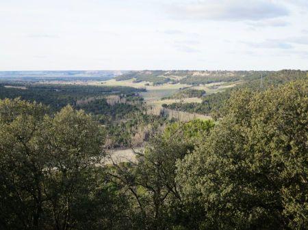 El valle desde la Pared