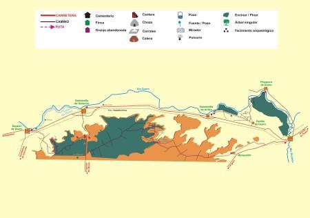 Sardon ruta del Duero