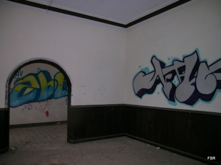 En el interior del Colegio