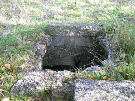 Lo que queda de la fuente del Horcajo