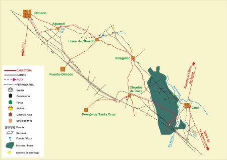 ferrocarril segovia medina