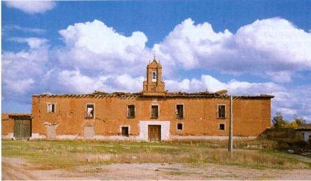 Monasterio de La Flecha. Fotografía de J.J. Martín Gonzaléz en el nº 29 del Boletín de la Real Academia de la Purísima Concepción.