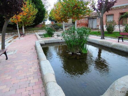La fuente de Fuente de Santa Cruz