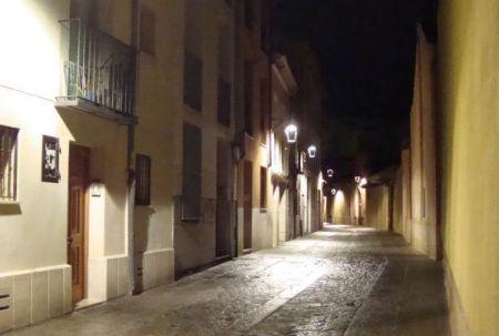 Una calle de Valladolid