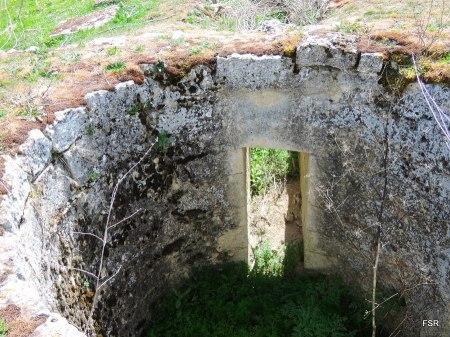 Detalle del cubo del molino