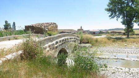 Puente sobre el Hornija en Gallegos
