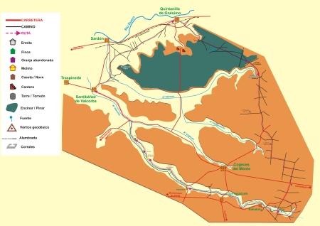 Fuentes del arroyo Valcorba