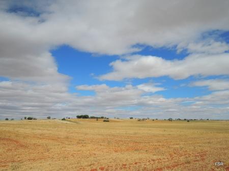 Suave colina en Tierra de Campos