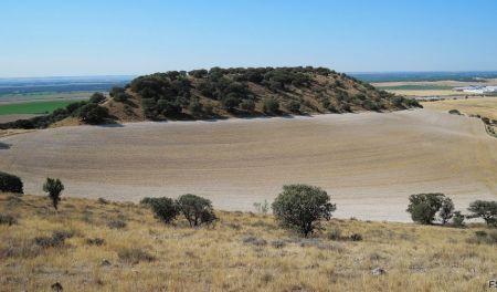 El cerro de las Encinas desde el páramo