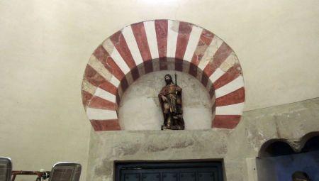 Iglesia de San Cebrián de Mazote. Detalle
