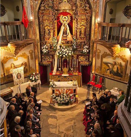 """Capilla de la Virgen (foto de """"El Día de Valladolid"""""""