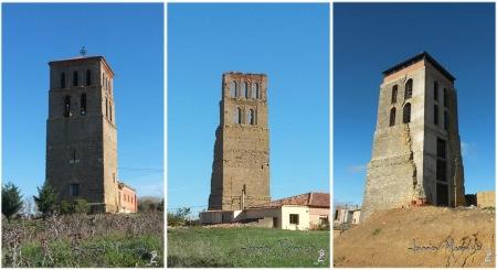 Bustillo,Villacarralón, Gordaliza. Algunos campanarios terracampinos