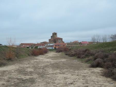 La iglesia de Barromán desde el Zapardiel