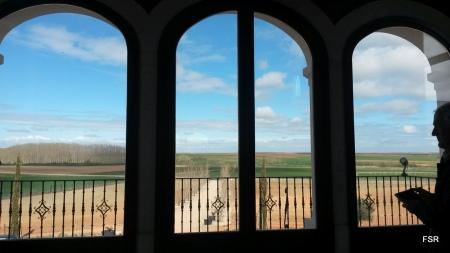"""Mirando el paisaje desde la """"Heredad"""""""
