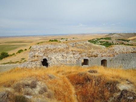 Aspecto del castillo de Torremormojón